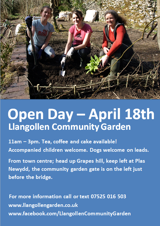 Open day April 18th